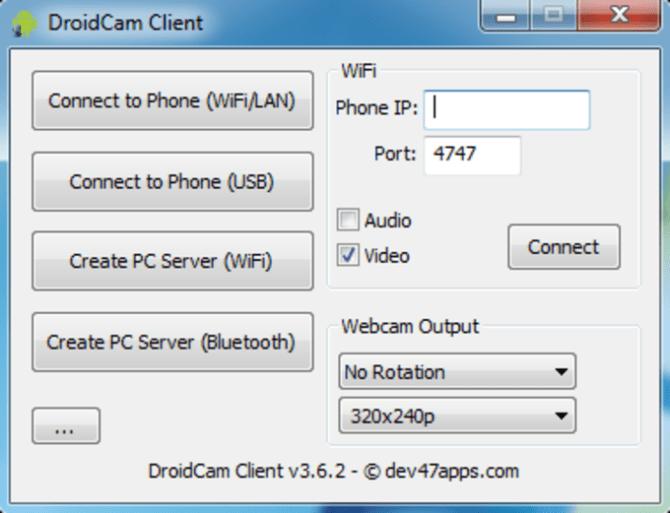 Droidcam wireless webcam скачать бесплатно